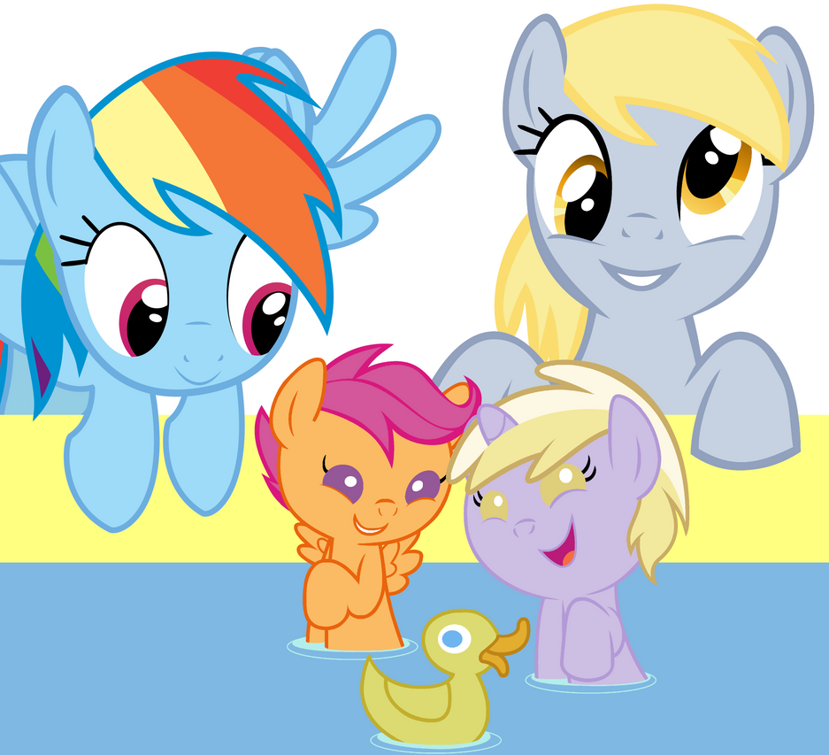 Two and a Half Mares by Beavernator