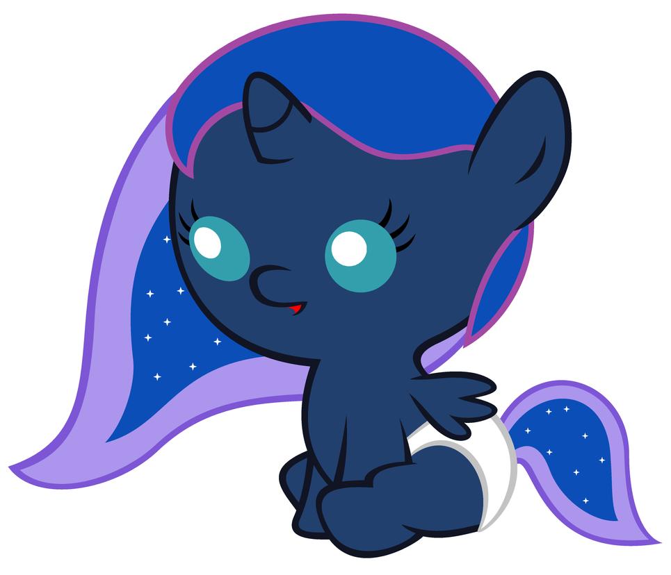 Baby Luna (StarDustXIII style) by Beavernator