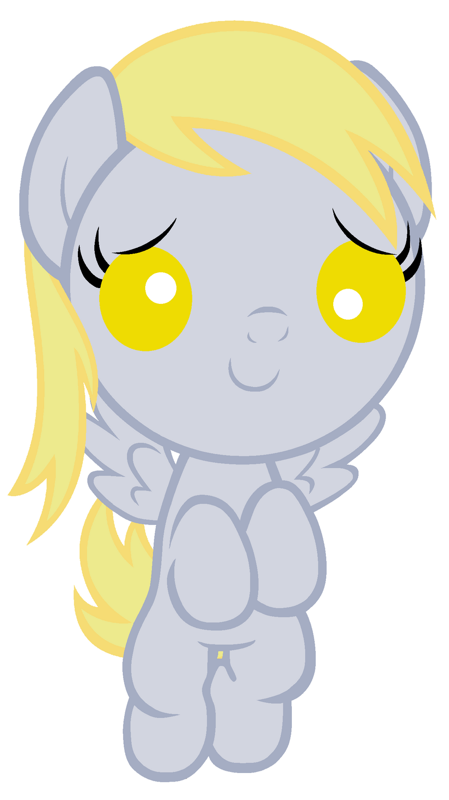 Baby Derpy Will Help You Feel Muffin by Beavernator