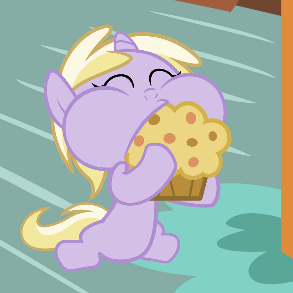 Derpy's Muffin With Derpy's Muffin by Beavernator