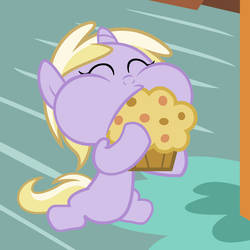 Derpy's Muffin With Derpy's Muffin