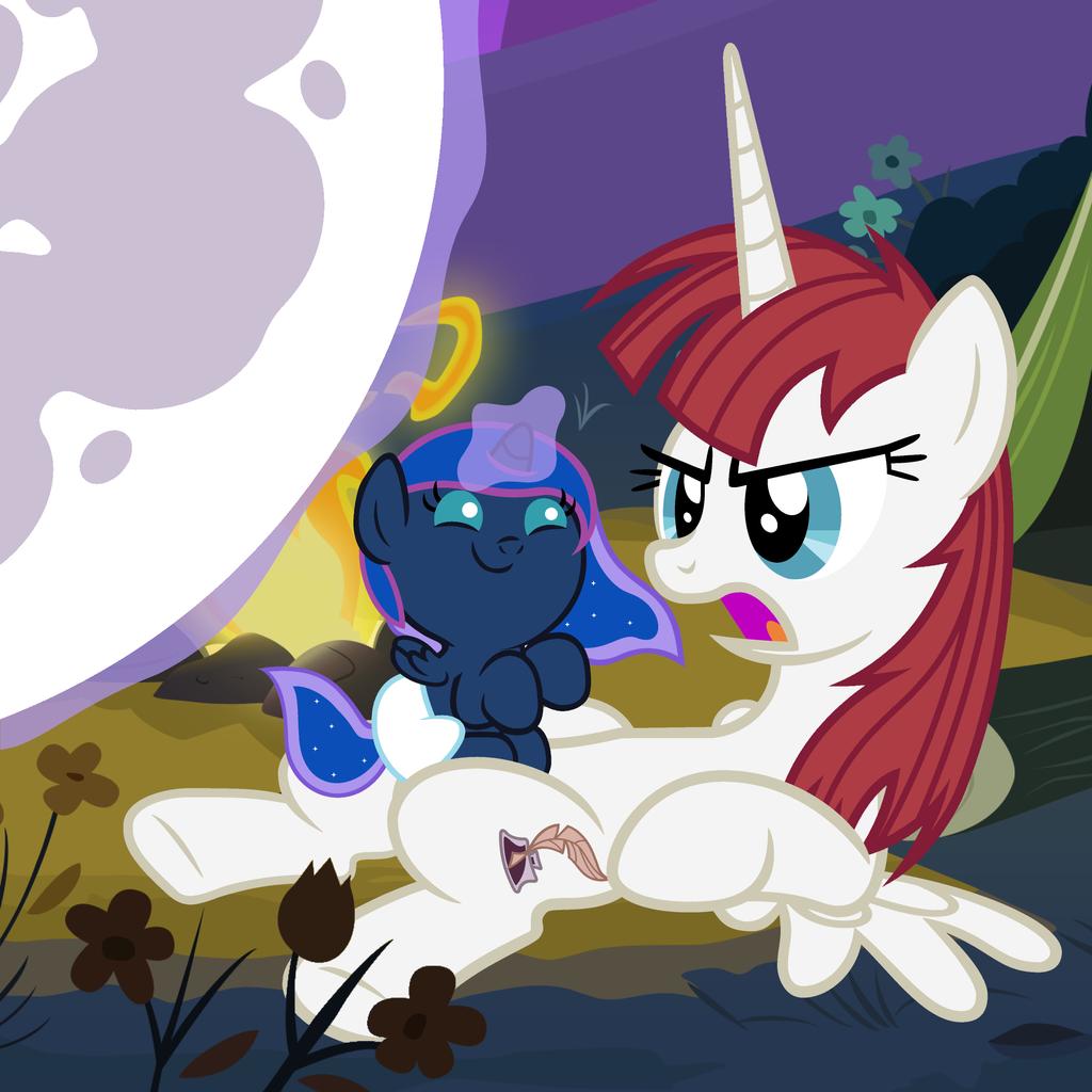 Put the Moon Back, Luna by Beavernator