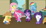 Age-Regressed Re-Ponified Anthromorphisized Ponies