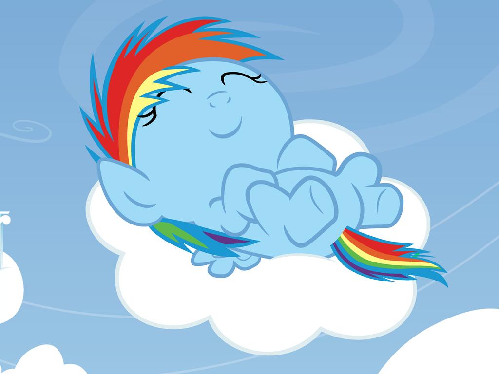 The Sleeping Rainbow by Beavernator