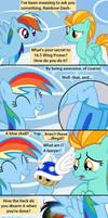 Rainbow Dash's Secret to Exercising Properly
