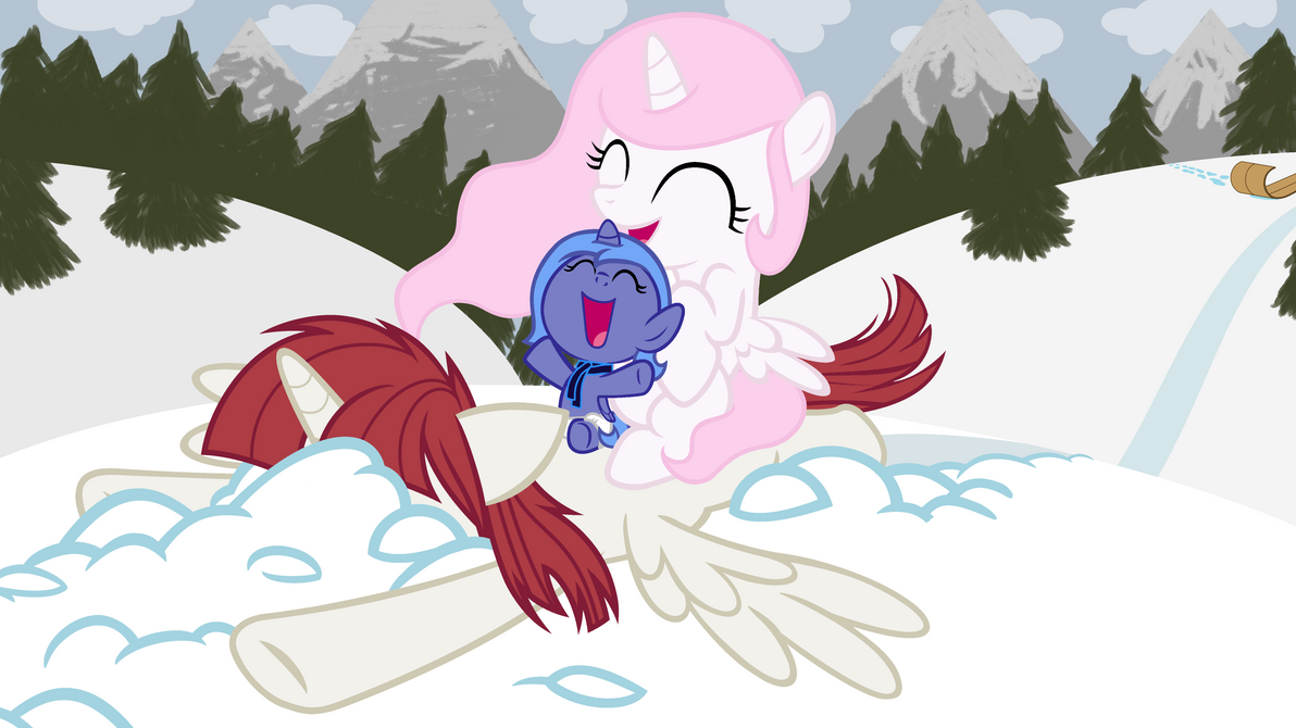 Out Tobogganing by Beavernator