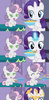 Spoonfeeding Sweetie Belle