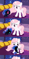 Nightmare Moon's First Defeat