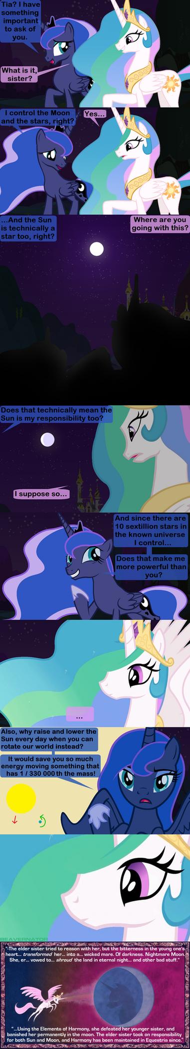 What Really Happened Before Luna's Banishment by Beavernator