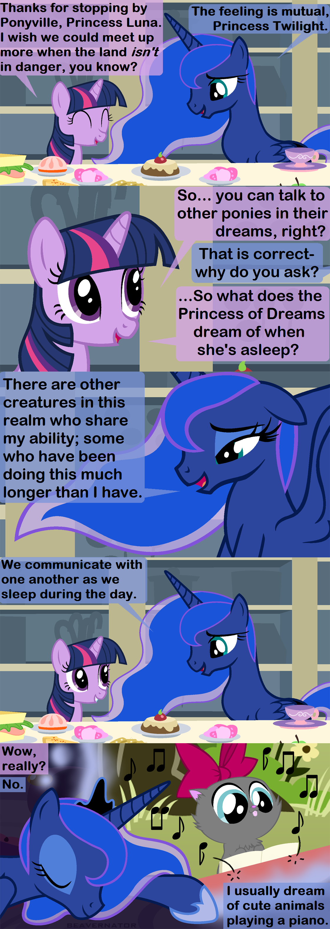 Princess of Dreams by Beavernator