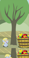 Derpy Bucks Her First Tree
