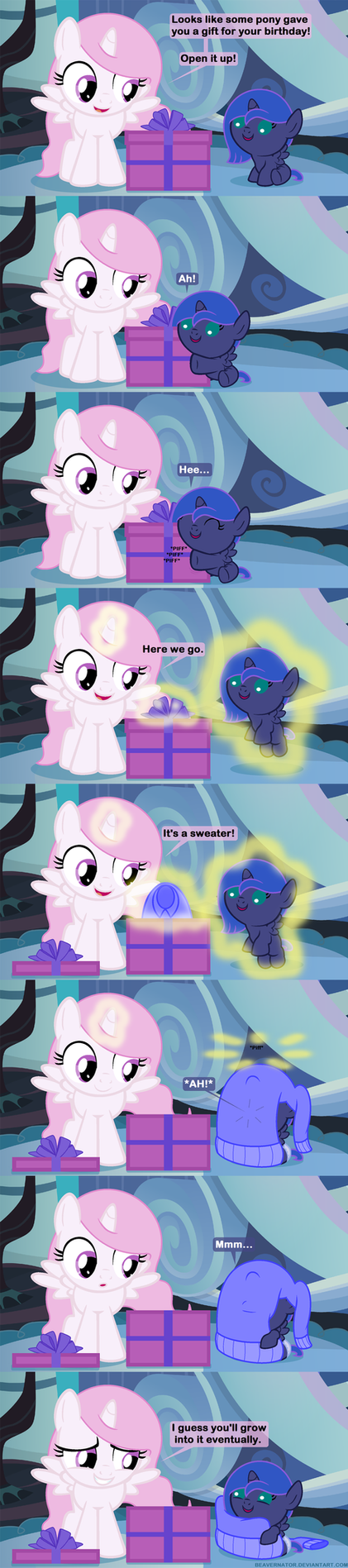 Woona's Gift by Beavernator