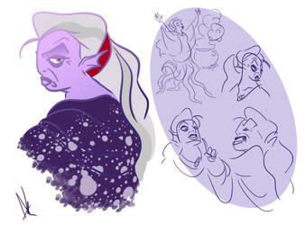 Ursula designs by darknightskies