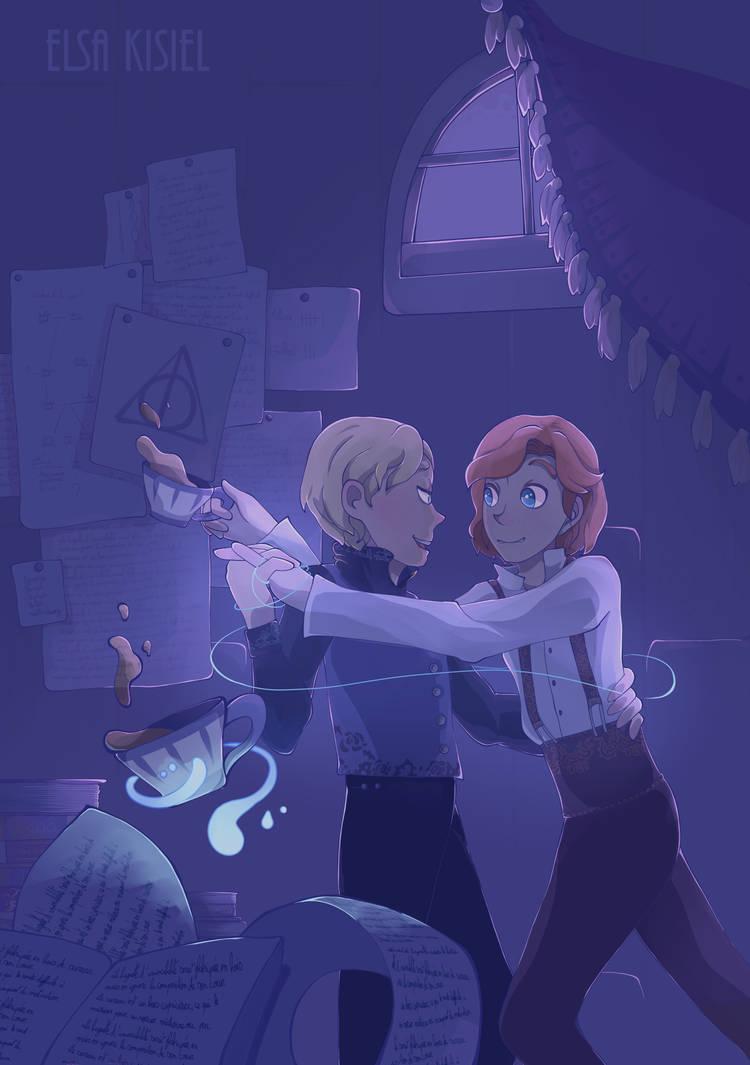 Waltz, tea and magic -Night version