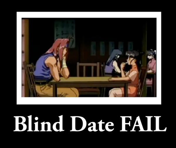 Blind dating meaning