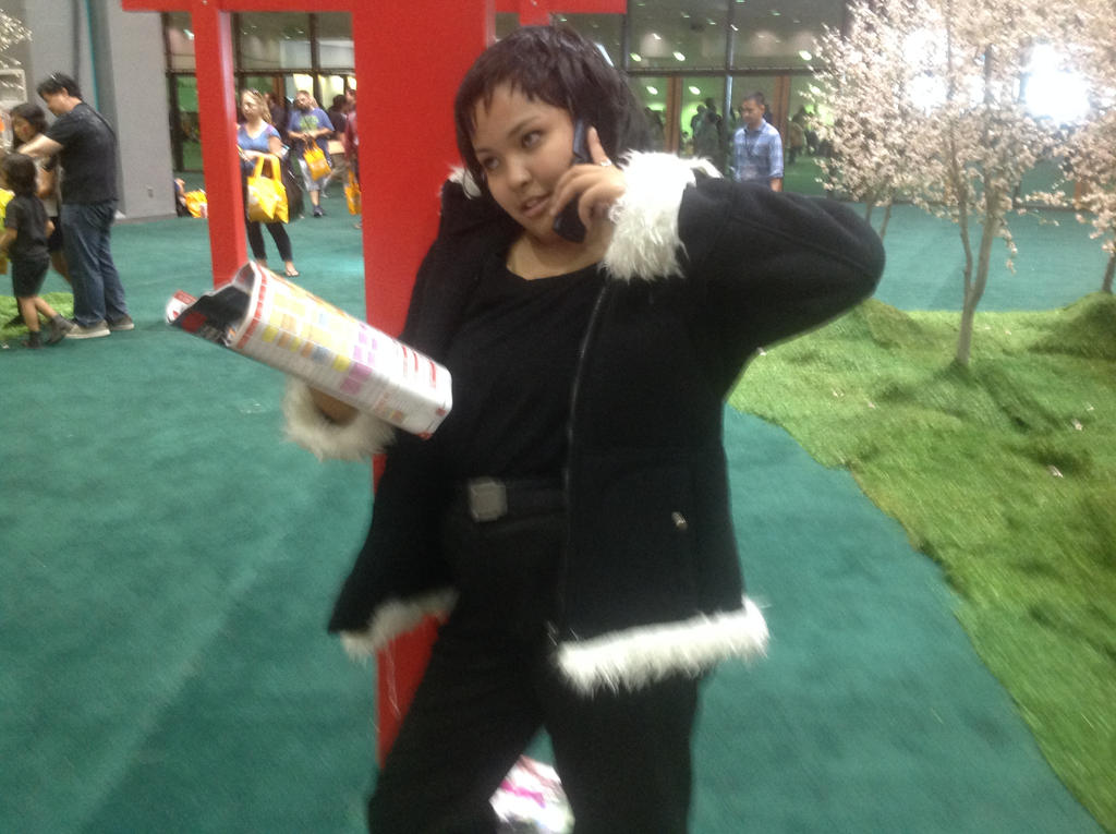 Anime Expo 2014- Izaya Orihara Cosplay (2) by fourgirls919