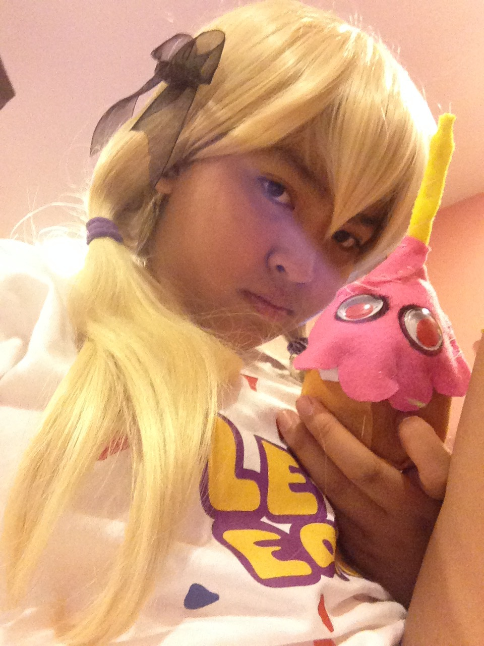 Fnaf chica the chicken cosplay wip cupcake plush by fourgirls919 on