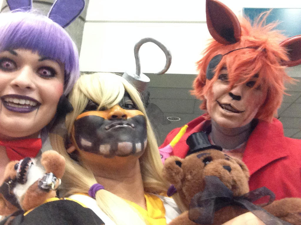 When Freddy's Not around... (Fnaf Cosplay) by fourgirls919