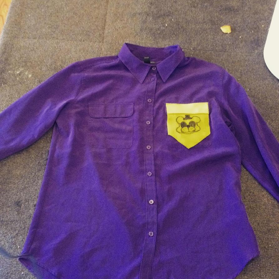 Purple Guy/Gal's Shirt- PurpleCosplayWIP by fourgirls919