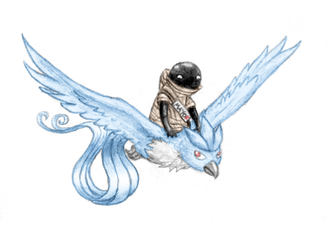 Why are you on an Articuno by Rayaya