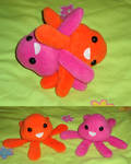 Squiddle Plushies