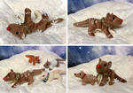 Gingerbread Thylacine Beanie