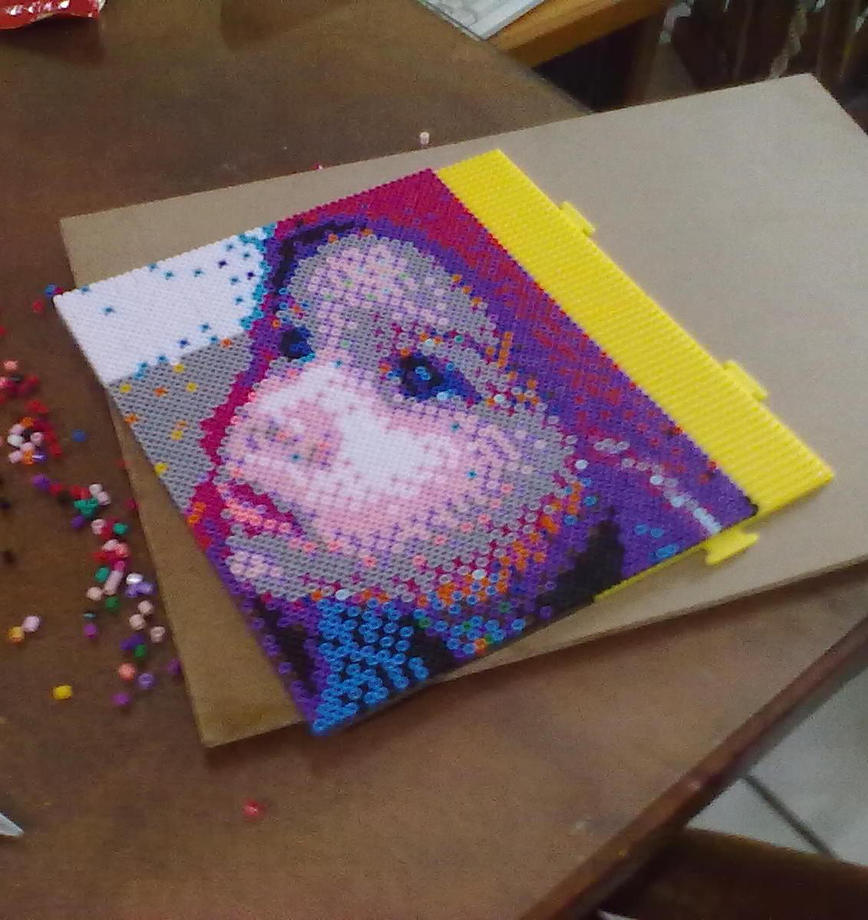 perler portrait photo by darthmagician on deviantart