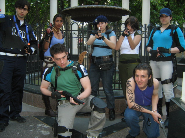 Resident evil team by Chris--Redfield