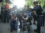 Resident evil cosplay team