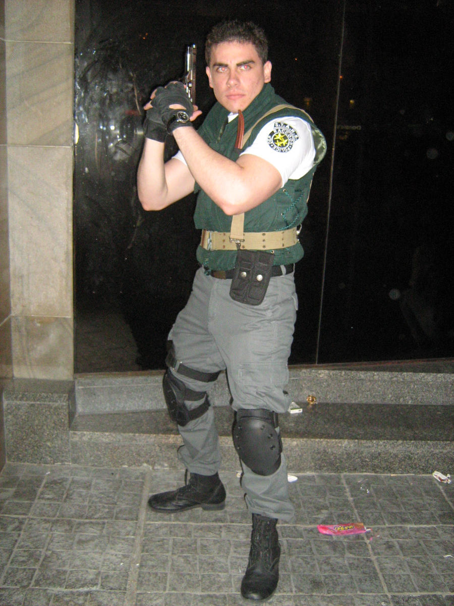 Chris Redfield Stars Cosplay By Chris Redfield On Deviantart