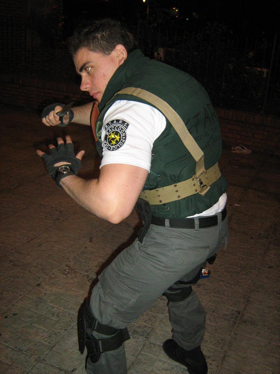 Chris cosplay re1