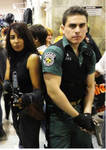Chris from resident evil and regina dino crisis