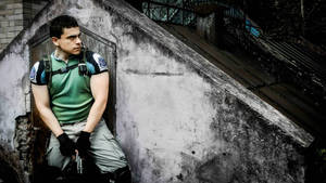 Re5 cosplay shot