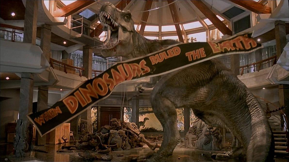 Jurassic Park T Rex Wallpaper By Keeperxiii On Deviantart