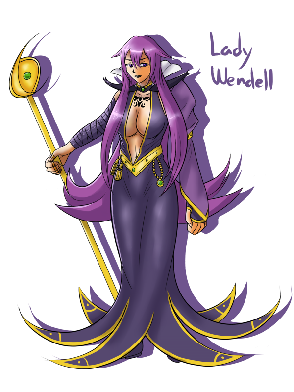 OC - Lady Wendell by KAIZA-TG