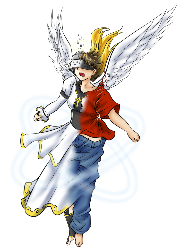 Comm - Virtual Ascension (Angel Priestess TG) by KAIZA-TG