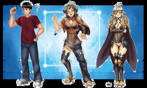 The Chosen Heroine Arrives! (FE Fates Ophelia TG) by KAIZA-TG