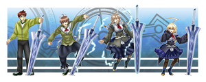 Comm - Serial Es-calation (BlazBlue Es TG) by KAIZA-TG