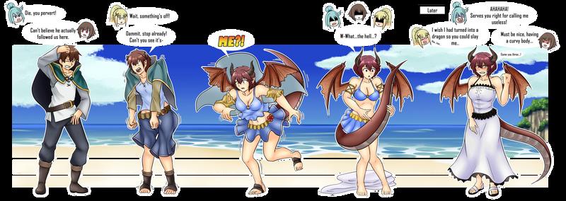 Comm - Karma is a Beach (Kazuma to Grea TG/TF)