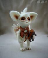 Baby Dragon. Art doll. Steampunk. Fantasy. by LeRuGallery