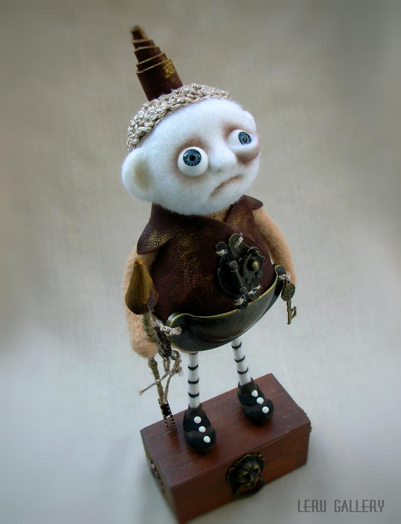 Steampunk knight. Art doll LeRu Gallery by LeRuGallery