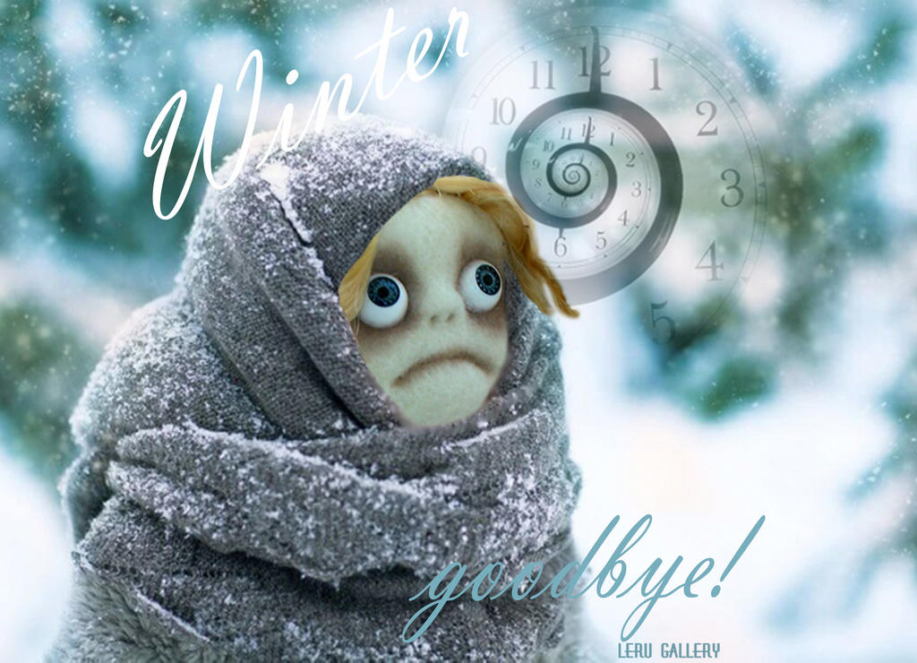 Winter Goodbye! Art dolls LeRu Gallery by LeRuGallery