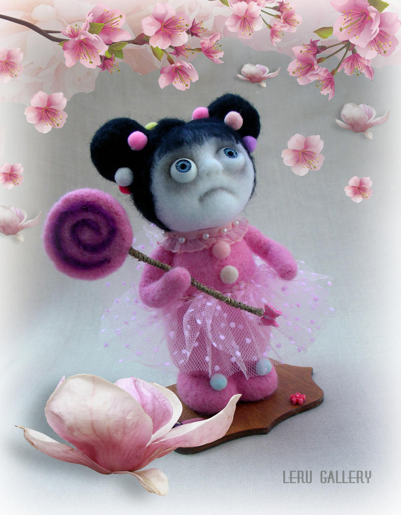 Spring came! Art doll LeRu Gallery by LeRuGallery