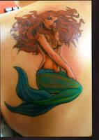 Mermaid by BodyGraffixTattoo
