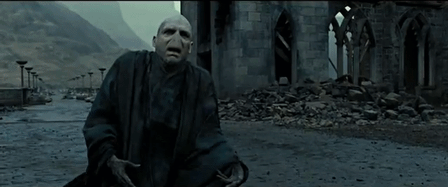 Voldemort's death | Gif by Thebesteditions-Nico