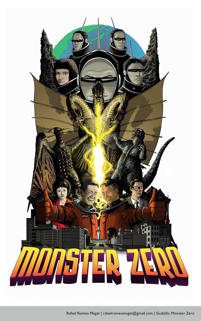 Godzilla: Monster Zero by Rafael-Romeo-Magat