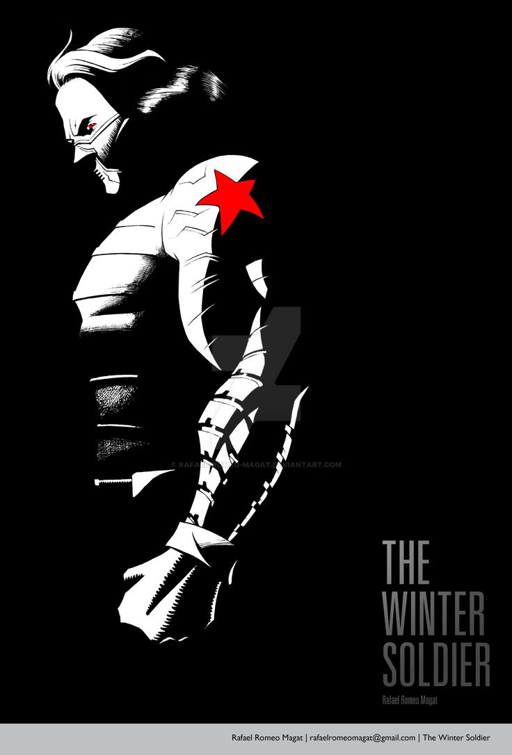 The Winter Soldier by Rafael-Romeo-Magat