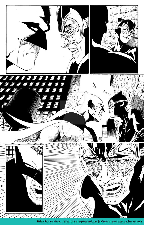 Batman/Catwoman Comic Sample Page 6 by Rafael-Romeo-Magat