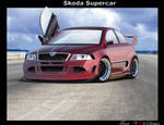 Skoda Octavia roadster.