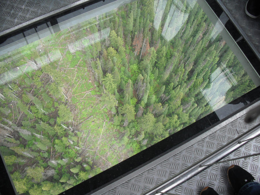Peak To Peak Glass Floor View By Fadingsunset On Deviantart